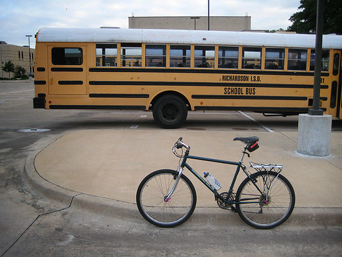 Richardson ISD School Bus