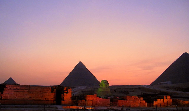 Egypt. Pyramids at Giza