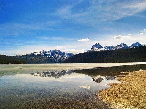 Reflection from Redfish Lake