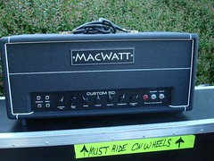 MacWatt backstage