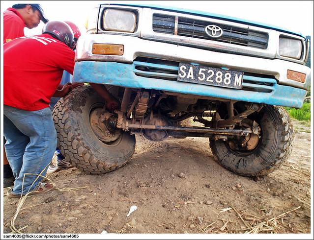Cabaran 4x4 Novis Kundasang - Toyota Hilux LN106