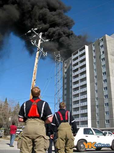 Fraser Town Fire Yellowknife - May 25