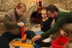 Building Block Tower (Mark Verner) Tags: tower toy henry penny shay buildingblocks