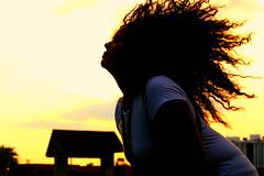 Day 146/365 Meet Jazmine (jcodudeortiz) Tags: sun girl hair 365 hairflip jazmine project365 3652010