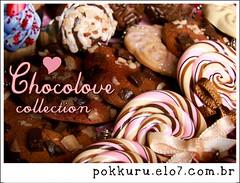 colecao de inverno - chocolove (pokkuru.) Tags: food miniature strawberry sweet chocolate mini fimo cupcake clay morango polymer pokkuru