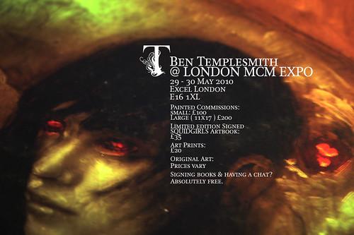 LONDON MCM EXPO & MEEEEEE