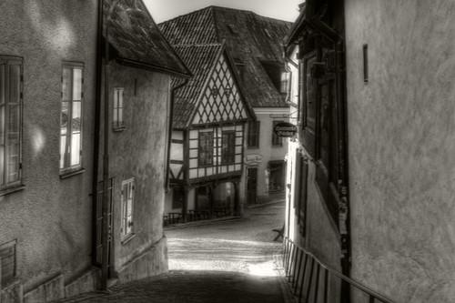Old house. Visby. Vieja casa