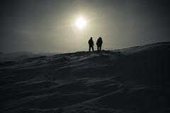 Nowhere To Turn (davebrosha) Tags: silhouette military north arctic nunavut patrol armed canadianforces canadianrangers davebroshaphotography wardhuntisland operationnunalivut