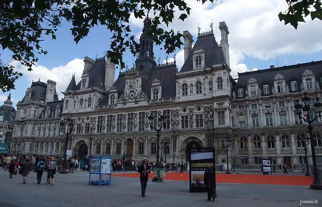 Façade Renaissance de la Mairie de Paris