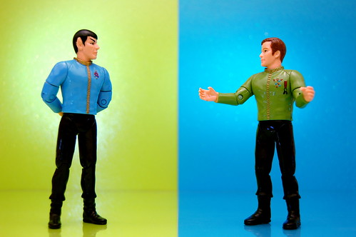 Mr. Spock vs. James T. Kirk (151/365)