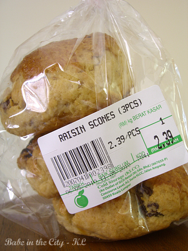 Cold Storage Scones package