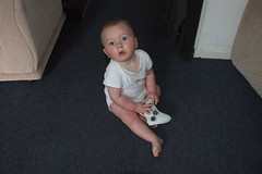 Thomas Playing Xbox
