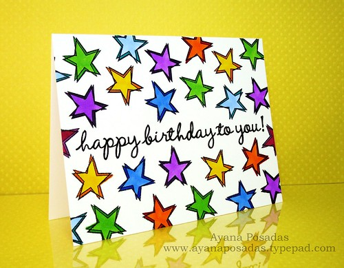 One Layer HA Birthday Stars (2)