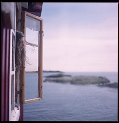 .after the night. (andrenzo) Tags: blue sea sky love film window water norway composition square island photography photo mare hand kodak bokeh dream hasselblad finestra gil scandinavia hari lofoten norvegia nord scandinavian ragazza capelli sogno sfocato pellicola artlibre artlibres fourlines andrenzo andreacolombo