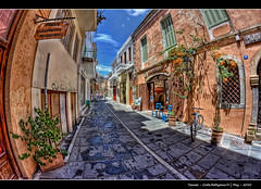 183/365 - HDR - Crete.Rethymno.IV.@.1150x760 (Pawel Tomaszewicz) Tags: camera new light shadow sky holiday fish streets eye colors architecture clouds photoshop canon lens island greek photography eos islands town photo europe foto view angle wide creative kreta wideangle ps hobby fisheye greece crete fotografia greekislands hdr cyclades fable hdri aparat pawel wakacje cs3 rethymnon  kriti architektura  chmury creete 3xp grecja photomatix   odpoczynek greatphotographers wyspa  400d wyspy eos400d 1200x800 fotografowie polscy cyklady  tomaszewicz paweltomaszewicz