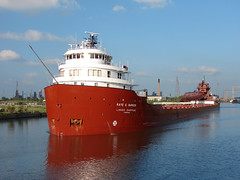 Str. Kaye E. Barker (The Open Lake Group LLC) Tags: ship detroit barker laker interlake freighter rougeriver lakeboat kayeebarker kayebarker