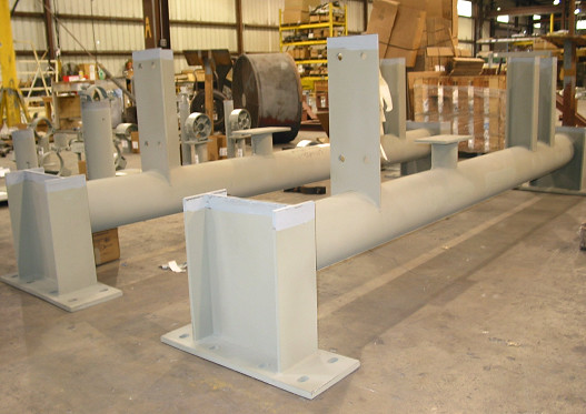 Structural Support Units for a Power Plant in California