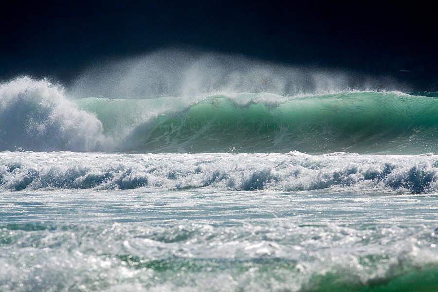 Las olas; nuestras musas
