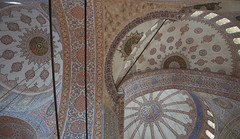 Blue Mosque interior view (PierTom) Tags: blue turkey istanbul mosque