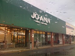 Start a rainy day at Joanns!