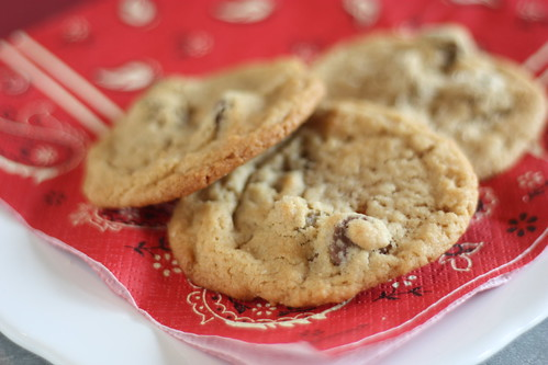 Peanut Butter Cookies with Milk Chocolate Chunks (Baked: New Frontiers in Baking cookbook)