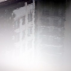 fade to grey (Cosimo Matteini) Tags: reflection building london pen grey canal olympus paddington fade epl1 cosimomatteini