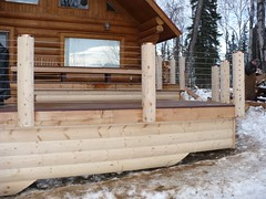 Deck design ideas trex cedar hardwood Alaskan0120 (alaskatreeline) Tags: alaska stairs design deck anchorage porch rails framing railing posts contractor trex builder anchoragealaska bestdeckbuilder