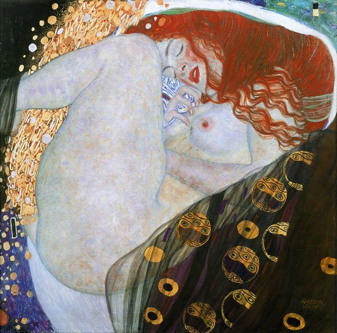Gustav Klimt Danae (1907-08)
