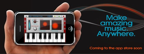 NanoStudio - music recording studio for iPhone and iPod Touch | BlipInteractive.co.uk