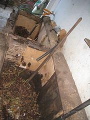 Two-Bin Compost (edibleoffice) Tags: google gardening soil compost greywater summerofcode summerofcompost