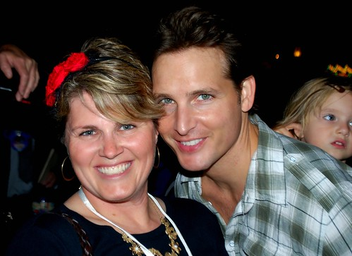 Angry Julie and her celebrity BFF, Peter Facinelli