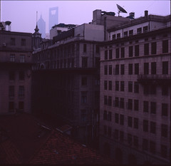 (yui503cx) Tags: china old building film shanghai 66 hasselblad bund planar 80mm puxi 503cx
