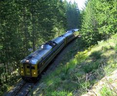 VIA 6148 Malahat (Chris City) Tags: railroad en train railway via vancouverisland passenger svi rdc malahat dayliner