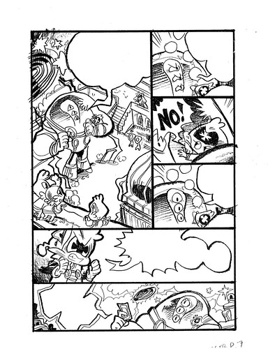 V'GER: Intergalactic Delivery Boy Page 7