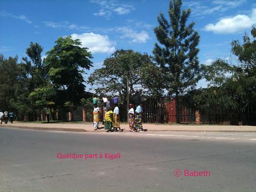 Kigali, femmes ...
