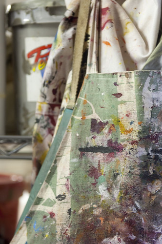 In the studio - Apron