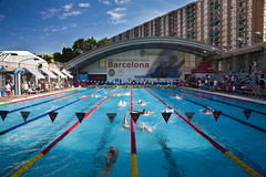 Barcelona, Spain (HaydenSoup) Tags: barcelona pool swimming swim canon eos spain mare competition 5d 2010 nostrum