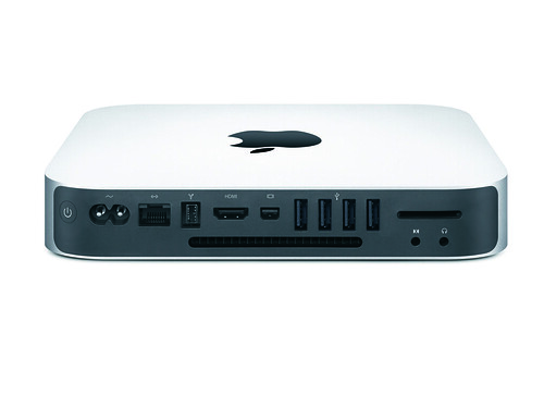 Mac Mini Back View