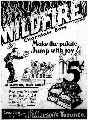 Vintage Ad #1,144: Wildfire Makes the Palate Jump With Joy by jbcurio