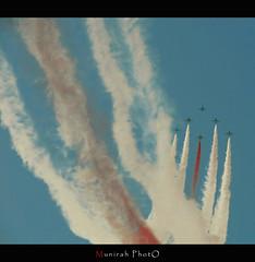 Saudi Hawks . . (Munirah Ibrahim) Tags: show photography photo shot review flight picture simulation professional saudi pro shows simple ahmed hawks hader   munirah           itersting