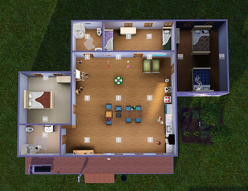 The incredibly basic, boring Sydel home