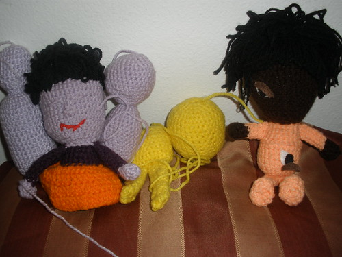 unfinished dolls