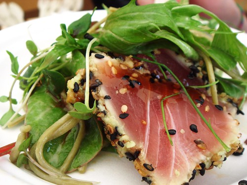 Sake No Hana - Seared Tuna and Green Tea Soba Salad
