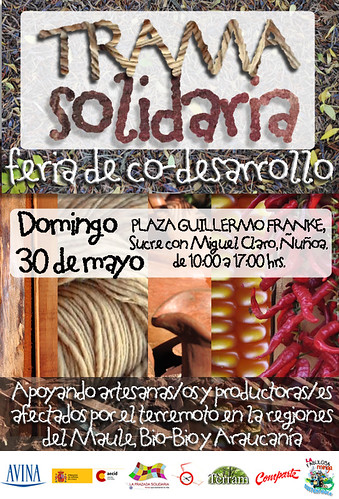 flyer Trama Solidaria
