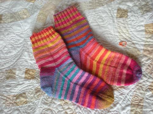 Ravelympic socks!