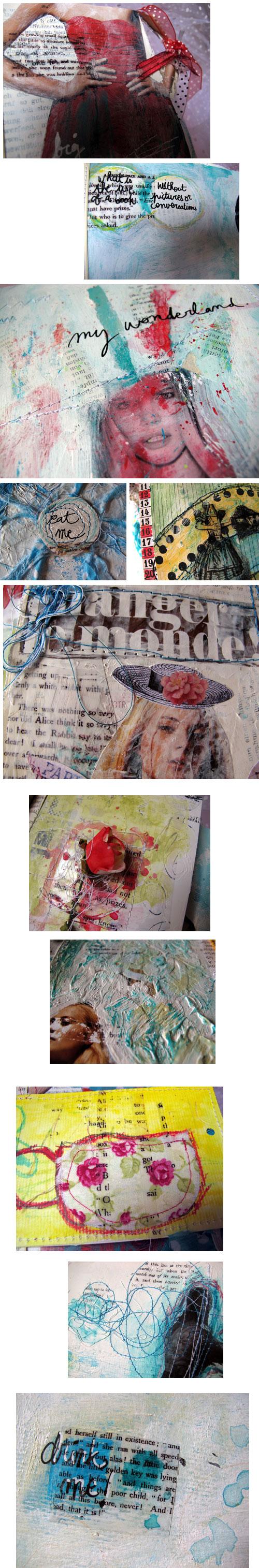 Alice journal (détails)
