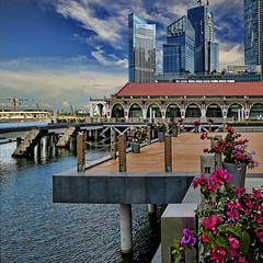 Clifford Pier is now Fullerton Bay Hotel (williamcho) Tags: tourism singapore attraction d300 cliffordpier imagesofsingapore williamcho marinabayfinancialcentre fullertonbayhotel marinabaydistrict photosonsingapore