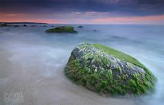 The Big Rock (Pavel Pronin) Tags: sunset seascapes bulgaria blacksea     bulgarianblacksea