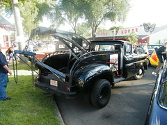 1964 chevrolet tow truck (corvair dude) Tags: show street hot classic ford chevrolet car truck back rat antique international chevy rod 50s custom tow 1941 harvester 1964
