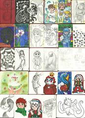 Meu Sketchbook (Yara#Chan) Tags: natal geek alice flor sketchbook cachorro playboy coelho desenhos blackbird inuyasha tirinha duende criao cupido elfo carpas sesshoumaru paramore percyjackson rainhavermelha gatorisonho homemcanguru